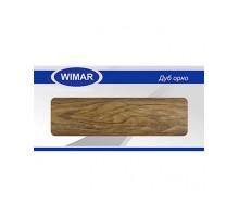 Плинтус Wimar (Вимар), ПВХ, с кабель-каналом 811 Дуб орно, 58 мм.