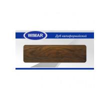 Плинтус Wimar (Вимар), ПВХ, с кабель-каналом 824 Дуб калифорнийский, 58 мм.