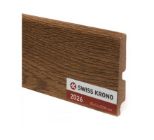 Плинтус МДФ ламинированный Kronopol P85 2026, Ginger Oak, 2500х85х16мм, 9шт/уп