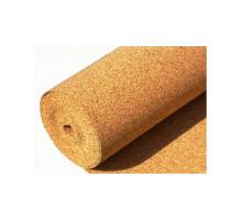 Пробковая подложка в рулонах Amor 10 мм (1м х10м х10мм) 10м2, техническая мелкозернистая