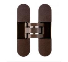 OTLAV IN300120BO02 скрытая петля  INVISACTA универсальная, с  декор.накладками, 120х30х21, бронза (60 кг)