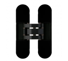 OTLAV IN3001209N02 скрытая петля  INVISACTA универсальная, с  декор.накладками, 120х30х21, черный (60 кг)