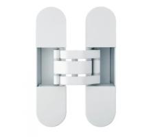 OTLAV IN3001209P02 скрытая петля  INVISACTA универсальная, с  декор.накладками, 120х30х21, белый (ral 9016) (60 кг)