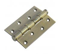 Латунные универсальные дверные петли Morelli MBU-4BB AB Античная бронза