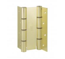CODE 87 AO 155-30 Дверная петля пружинная двусторонняя ALDEGHI 155x30 матовая латунь