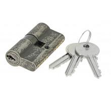 Цилиндровый механизм Extreza AS-60 ключ-ключ 25x10x25 античное серебро F45