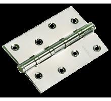 Стальные универсальные дверные петли Morelli MS-4BB CP Хром