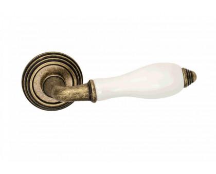 Дверная ручка Adden Bau Porcellana V214 состаренная бронза/керамика