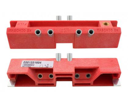 Шаблон  Е001331604 для установки ввертных регулируемых петель AGB диаметром 14мм, 16мм
