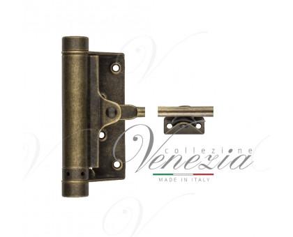 Aldeghi 115OA004 доводчик пружинный  античная бронза до 80кг