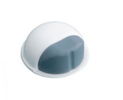 Упор дверной Amig 401-50 белый/серый (клеевой)