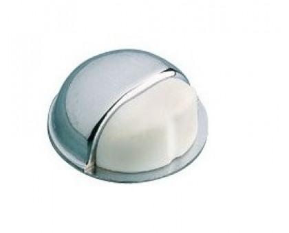 Упор дверной Amig 402-50 хром/белый (клеевой)