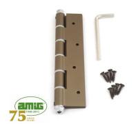 Петля дверная пружинная Amig-3034-180*80*4 бронза 180мм