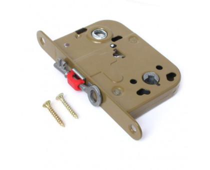 Врезной замок Apecs 6000-WC/S-OL ключ буратино без отв. планки, олива (для финских дверей)