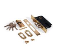 Врезной замок Apecs 1000/60-G золото