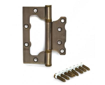 Петля дверная без врезки  Apecs 100мм бронза