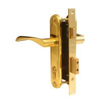 Врезной замок Apecs 1223/60-G золото