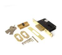 Врезной замок Apecs 95/60-G золото