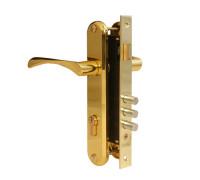 Врезной замок Apecs 2223/60-G золото