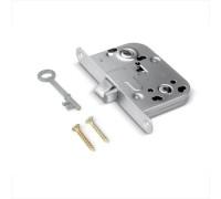 Врезной замок Apecs 6000-WC/S-CR без ответ. планки, хром (ключ буратино) для финских дверей