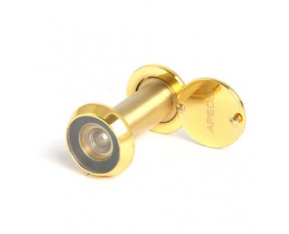 Дверной глазок Apecs 3016/40-70-G золото
