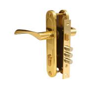 Врезной замок Apecs 1023/60-G золото