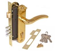 Врезной замок Apecs 1527/60-G/GM золото/матовое золото