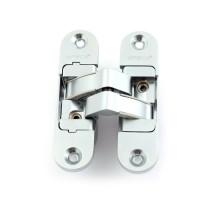 Петля дверная скрытой установки Apecs DH-1130-111*29*6-3D-Z-CRM-R матовый хром правая до 60кг