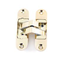 Петля дверная скрытой установки Apecs DH-1130-111*29*6-3D-Z-G-L золото левая до 60кг
