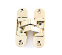 Петля дверная скрытой установки Apecs DH-1130-111*29*6-3D-Z-G-R золото правая до 60кг