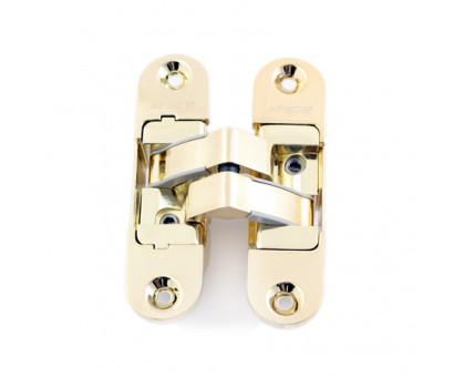 Петля дверная скрытой установки Apecs DH-1130-95*23*5-3D-Z-G-L золото левая до 40кг