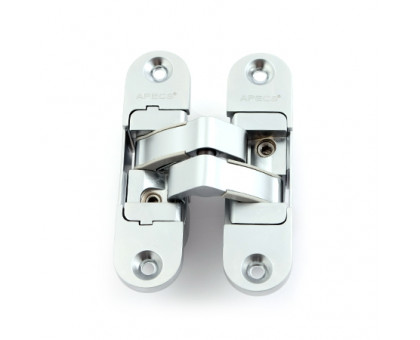 Петля дверная скрытой установки Apecs DH-1130-95*23*5-3D-Z-CRM-R матовый хром правая до 40кг