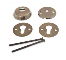 Броненакладка Apecs Protector Basic-K-AB бронза накладная для цилиндра со штоком