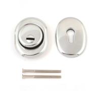 Броненакладка  Apecs Protector Pro 50/27-MK-CR хром + доп. накладка на цилиндр