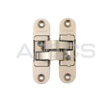 Петля дверная скрытой установки Apecs DH-1130-111*29*6-3D-Z-NIS-L матовый никель левая до 60кг