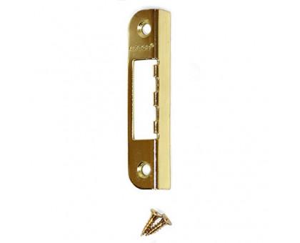 Ответная планка Apecs BP-0068-G (золото) угловая