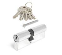 Цилиндровый механизм Avers EL-80(45/35)-NI никель ключ/ключ