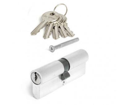 Цилиндровый механизм Avers EL-80-NI никель ключ/ключ