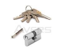 Цилиндровый механизм Avers ZC-60-CR (хром) ключ/ключ