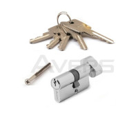 Цилиндровый механизм Avers ZC-60-C-CR хром ключ/верт.