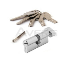 Цилиндровый механизм Avers ZM-80-C-CR (хром) ключ/верт., перфорированный ключ