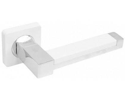 Ручка дверная CdeB 450 MW/CP матовый белый/хром блест.