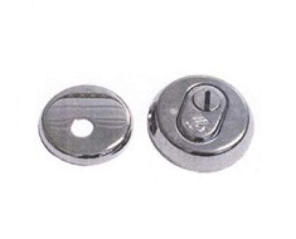Броненакладка Cisa 06461.51.18 накладная хром для цилиндра со штоком