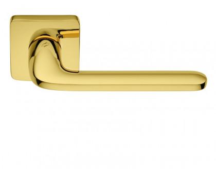 Дверная ручка Colombo Roboquattro S ID51 RSB-OL на квадратной розетке (полированная латунь)