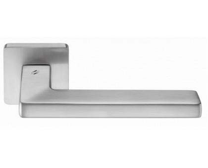 Дверная ручка Colombo Esprit BT11 RSB на квадратной розетке (матовый хром)