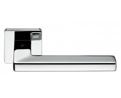 Дверная ручка Colombo Esprit BT11 RSB на квадратной розетке (полированный хром)