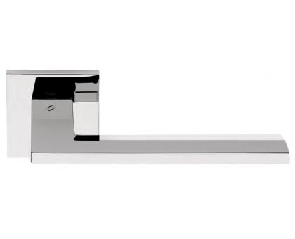 Дверная ручка Colombo Electra MS11 RSB-CR на квадратной розетке (полированный хром)