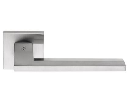 Дверная ручка Colombo Electra MS11 RSB на квадратной розетке (матовый хром)