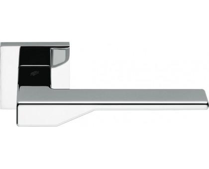 Дверная ручка Colombo Dea FF21 RSB на квадратной розетке (полированный хром)
