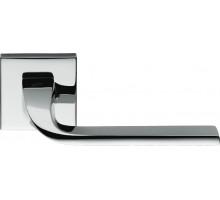 Дверная ручка Colombo Isy BL11 RSB на розетке (полированный хром)